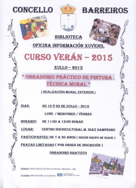 ACTIVIDADES VERAN XULLO BARREIROS