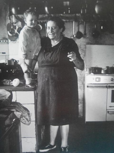 Sra. Hortensia e Manolín